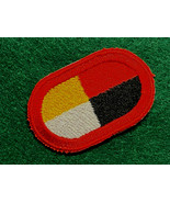 3rd SPECIAL FORCES GROUP (AIRBORNE), PARACHUTIST OVAL, SOLID RED BORDER - $7.87