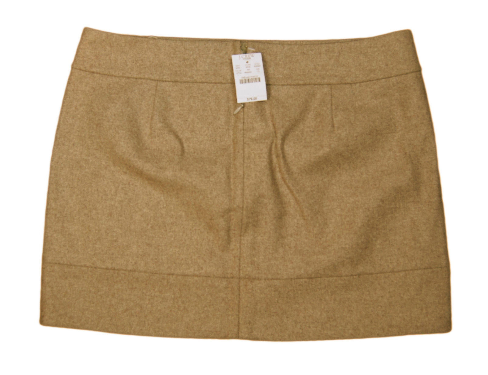 838b685548 J CREW Camel Brown Wool Blend Rear Zip A and 38 similar items