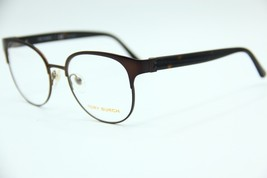 New Tory Burch Ty 1054 3231 Brown Eyeglasses Authentic Frame Rx TY1054 50-18 - $104.50