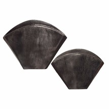 Uttermost Filip Dark Nickel Vases Set/2 - $191.40
