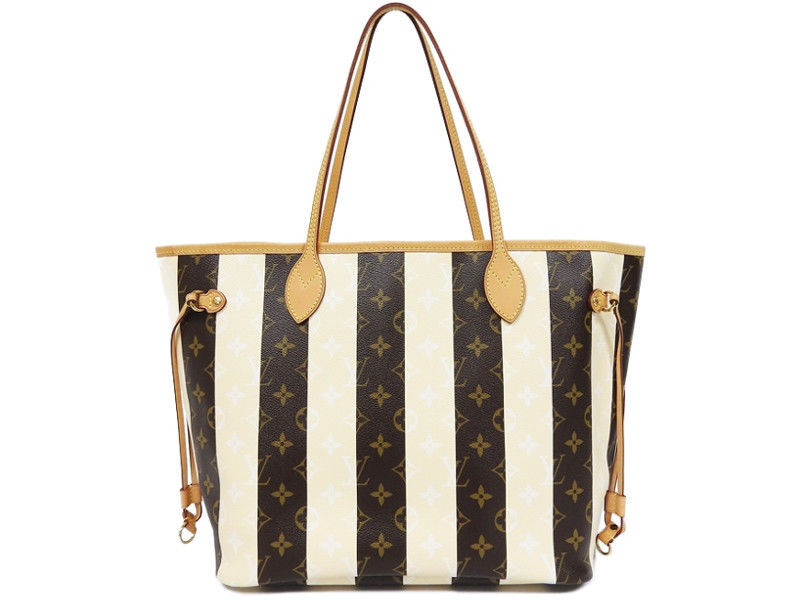 ca584bff6e55 S l1600. S l1600. Previous. LOUIS VUITTON LV Rayures Neverfull MM Tote Bag  M40560 Monogram Auth Rare Used