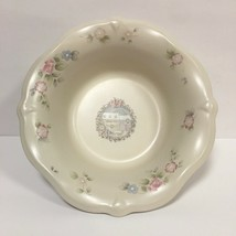 """Pfaltzgraff Tea Rose HOLIDAY Serving Bowl Christmas Welcome To Our Home 10"""" - $12.00"""