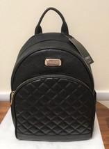 Jones New York Daisy Black Quilt Signature Backpack NWT - $89.09