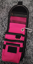 Abetta Nylon Cell Phone Carrier Pink Pleasure Horse Clip or Belt Use image 2