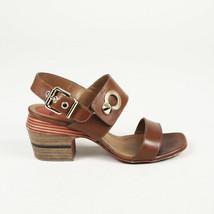 Fendi Leather Block Heel Sandals SZ 35 - $145.00