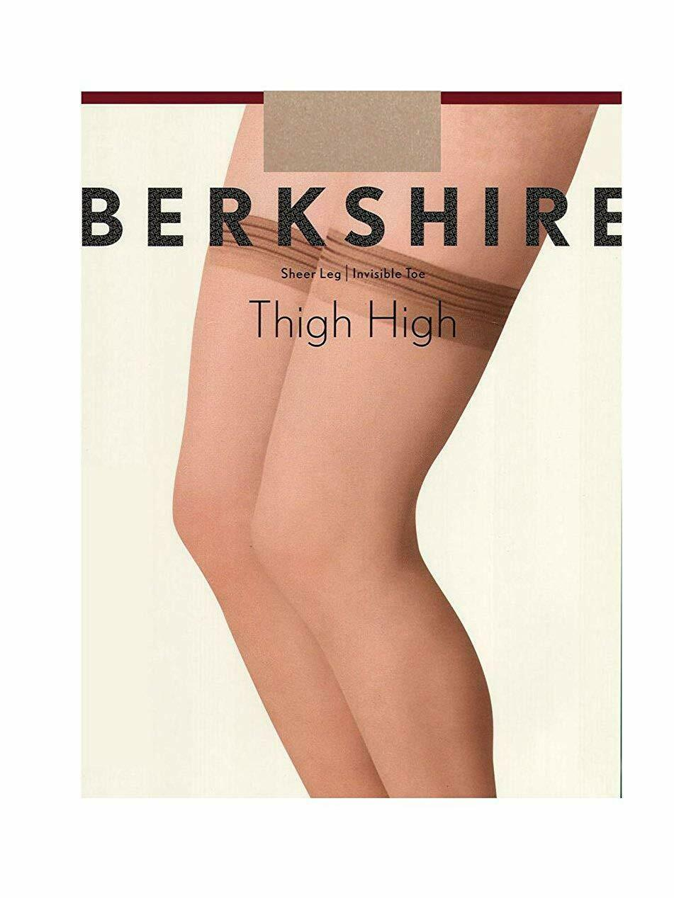 Berkshire NUDE All Day Sheer Thigh Highs, US A-B image 5