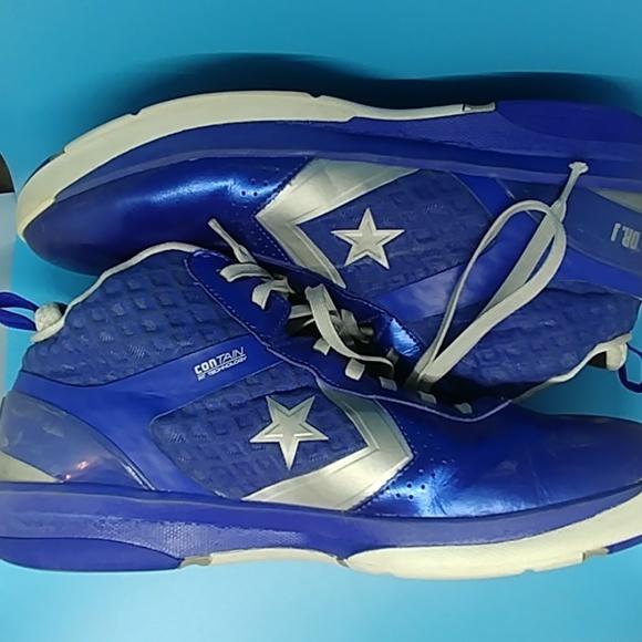 Converse Dr. J Basketball shoes blue size 16