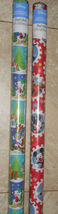 Mickey Mouse Christmas Wrapping Paper American Greetings 20 sq ft Roll - $5.50