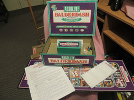 ABSOLUTE BALDERDASH Bluffing Game 1993 Complete - $14.31