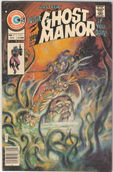 Primary image for Ghost Manor Comic 2nd Series #27, Charlton Comics 1976 FINE+