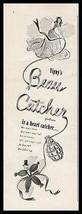 Beau Catcher Perfume 1944 Vigny Print Ad - $14.99