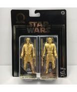 Star Wars Commemorative Edition Obi Wan Kenobi Anakin Skywalker Gold Fig... - $14.99
