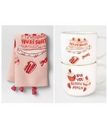 You're Sweet Love You Berry Much Mug Set and Tea Towel Opalhouse 15oz Ne... - £20.98 GBP