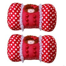 PANDA SUPERSTORE Set of 2 Female Favourite Car Neck Pillow/Chiropractic Neck Pil