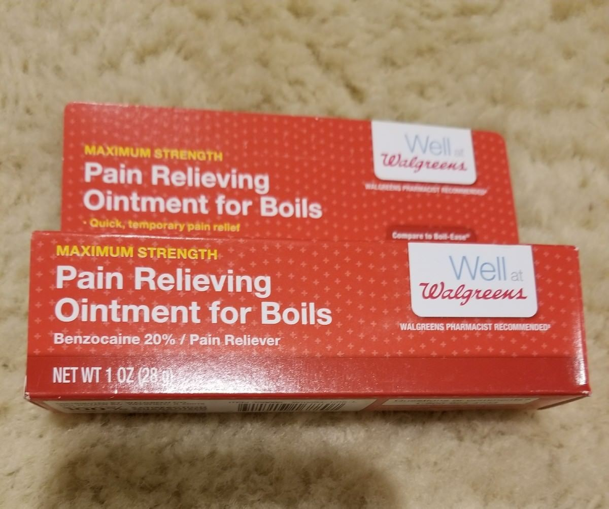 Walgreens Pain Relieving Ointment For Boils And 50 Similar Items