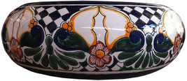 "Mexican Ceramic Bathroom Sink ""Aurora"" - $260.00"
