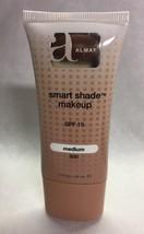 New Almay Smart Shade Makeup SPF 15, Medium 300 1oz/30ml - $10.03