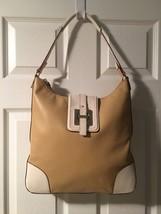 Kate Spade Tan & Cream Hobo Handbag - $116.99