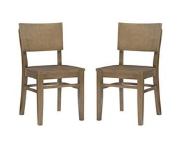 Linon Natural Set of 2 Desi Side Chair - $999.99