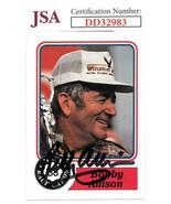 Bobby Allison signed NASCAR 1988 Maxx Charlotte Racing Trading Card #30-... - $33.95