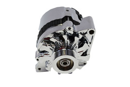 A -Team Performance GM CS130 Style 160 Amp Alternator with Serpentine Pulley image 2