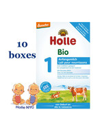 Holle Stage 1 Organic Formula, 10 BOXES, 400g, 02/2020 FREE SHIPPING - $164.95