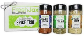 Organic Grilling Spices 3 Pack Gift Set: Vegetable Spices - $24.99
