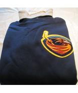 Winnipeg Jets Atlanta Thrasher Sweat Shirt Turtleneck Medium NHL Majesti... - $16.99