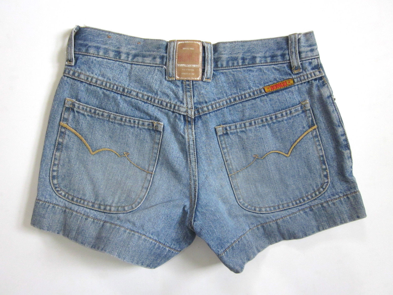 Bongo Denim Shorts Blue Jean Wide Hem Women Junior Size 0