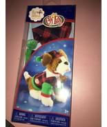 Elf on the Shelf Claus Couture Playful St Bernard PJs Doll, Green Pet - $34.53