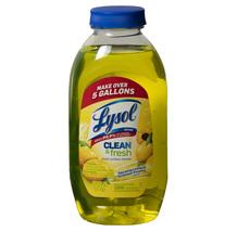 Lysol Clean & Fresh Multi-Surface Cleaner, Sparkling Lemon & Sunflower, 10.7 oz - $3.99