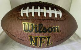 TROY POLAMALU / AUTOGRAPHED FULL SIZE WILSON BRAND NFL LOGO FOOTBALL / COA image 3