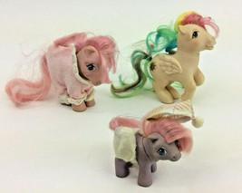 Hasbro My Little Pony Celestia Baby Pink White 1982 1983 1984 Set of 3 Vintage - $29.69