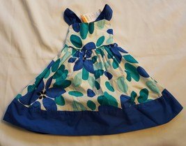 NWT Gymboree Girl's Size 6-12 Months Blue Flowers Spring Summer Occasion... - $16.99
