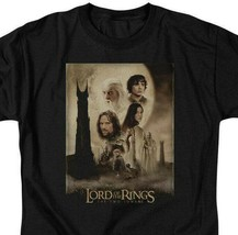 Lord of the Rings The Two Towers epic adventure film graphic tee LOR2000 image 2