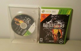 Battlefield 3 Xbox 360 Video Game Limited Edition With 2 Discs Microsoft Rated M - $8.99