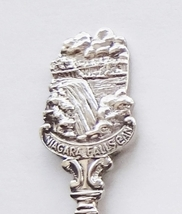 Collector Souvenir Spoon Canada Ontario Niagara Falls Embossed Emblem - $1.50