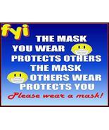Top Shelf Novelties 19 Covid Coronavirus (COVID-19) The Mask You Wear Pr... - $8.77