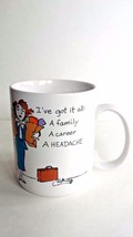 Hallmark Shoebox Greetings I've Got It All Career Woman Coffee Mug Cup 1987 - $6.88