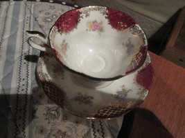 "Royal Albert Empress Series ""Catherine"" cup and saucer England  - $37.99"