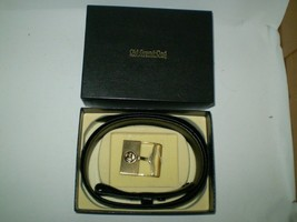 Old Grand-Dad head of the Bourbon family Belt & Buckle in box - $24.25