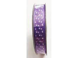 """Hobby Lobby Ribbon Boutique Sheer Organza Royal (Lavender) Ribbon, 3/8"""" x 15 Ft"""
