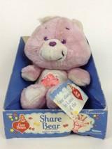 "New Vintage 1983 Kenner Original Care Bear 13"" Share Bear Stuffed Plush Toy - $69.25"