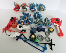 Beyblade Collection Lot Launchers Ripcords Accessories Metal Figurines - $129.99
