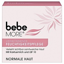 Bebe MORE Pampering Moisturizing face cream -50ml -Made in Germany - $11.87