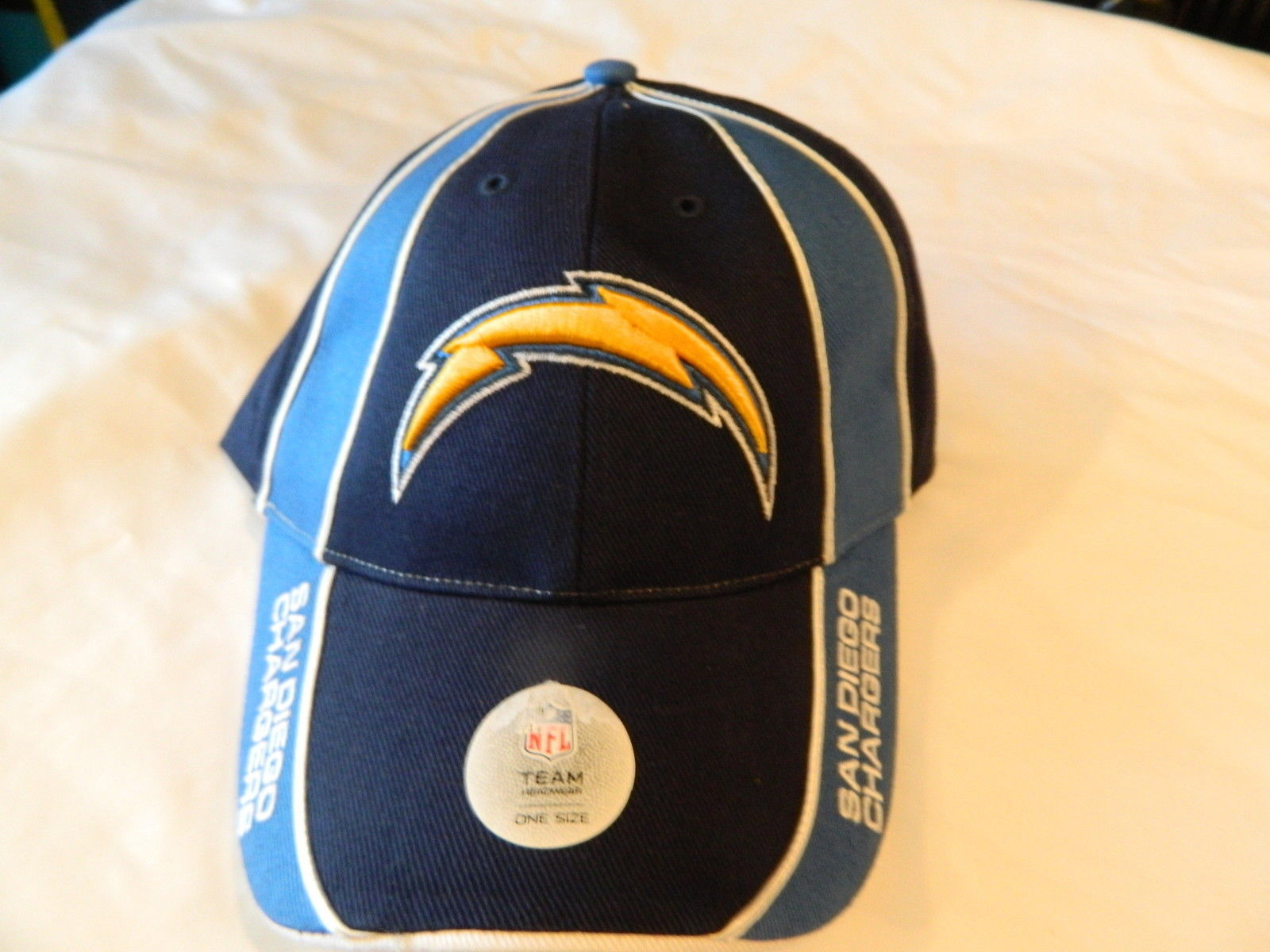 Team San Diego Chargers NFL Team Apparel Blue One Size fits most Back  NWT