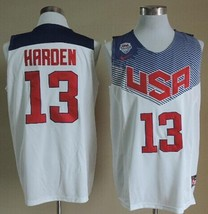 James Harden USA jersey with 2 Harden bracelets and Rockets key lanyard - $30.00