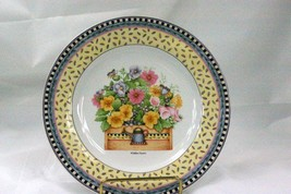 Sakura 2000 Spring Bouquet Multi Color Floral Salad Plate - $4.40