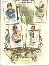 2007 Topps Allen & Ginter's NP9 National Pride box topper Over size card - $12.73
