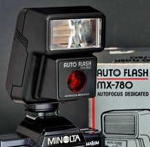 Minolta Maxxum AF Auto Flash MX-780 NOS New Old Stock X-700 7000 5000 90... - $35.00